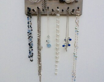 FREE SHIPPING Jewelry Organizer Necklace Holder Earring