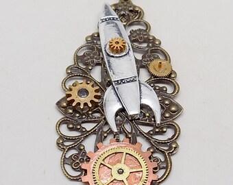 Steampunk necklace.