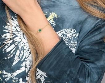 Birthstone Bracelet, Personalized Bracelet,  Any Month charms, August Bracelet, Crystal Bracelet, Birthstone gift, Bridesmaid Bracelet