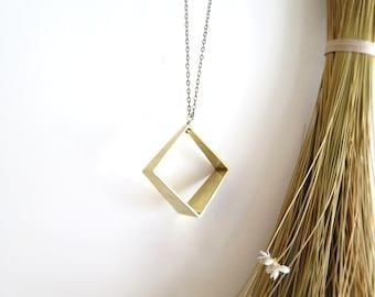 Square Prism Necklace
