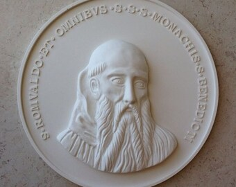 White 3d wall sculpture,medallion,free shipping