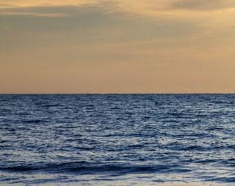Ocean Photography - 30x45 Fine Art Photography Print - brilliant blue sea vertical - Sea Pine No. 1303-9614