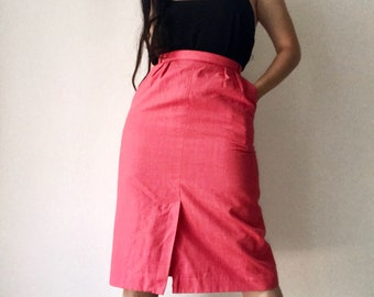 Vintge Skirt with Pockets