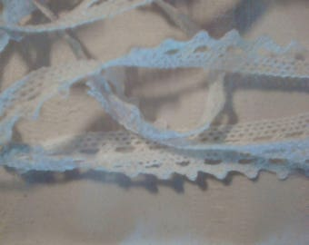 lace, ribbons, white cotton lace for decoration or scrap size 1 m 95
