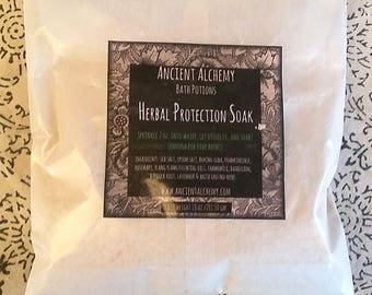 Herbal Protection Soak - Bath Salts - 10 oz.