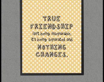 Best Friend Distance, Best Friend Decor, Best Friend Gift Long Distance, Best Friend Moving Away, Friend Gift Best Far Way, Friendship Quote