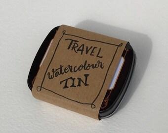 Watercolour Travel Tin