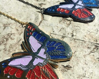 Grateful Butterfly Necklace