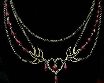 Lost at Sea Necklace Macabre Gothic Victorian Steampunk Nautical Maritime