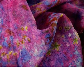 Floral Linen Fabric 100% Linen Fabric Linen Fabric 40