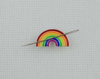Rainbow Needleminder / Small Rainbow Needle Minder