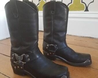 Vintage Biker boots
