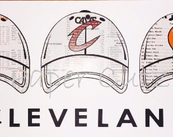 Cleveland Sports Hats Browns Indians Cavs