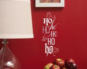 Christmas Vinyl Wall Decal