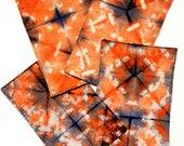 Shibori Napkins - Hand Dy...