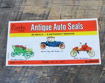 Vintage Eureka Antique Auto Seals