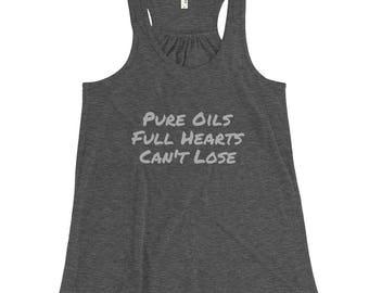 Pure Oils, Full Hearts Tank - Gray