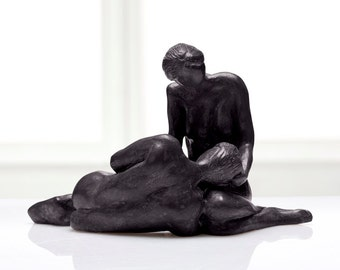 Serenity - Man and Woman Sculpture