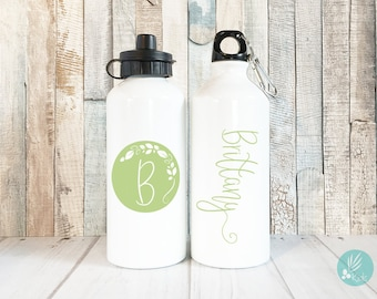 Personalized Water Bottle, Personalized Gifts for Teen Girls, Graduation Gift for Her, Tween Girl Gifts, Monogram Gifts, Flower Girl Gift