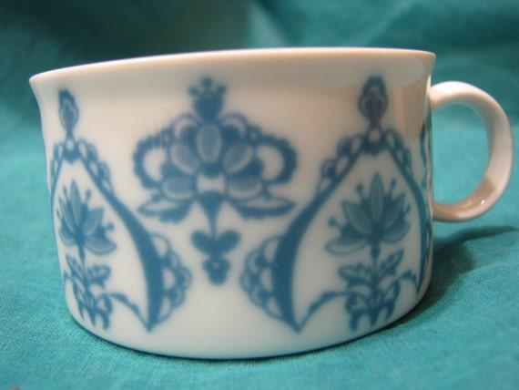vintage teetasse melitta jeverland friesisch blau friesland. Black Bedroom Furniture Sets. Home Design Ideas