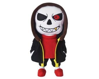 "Underfell Sans Designer Plush Toy 14"""