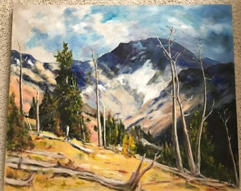 Gorgeous Plein Air Painting by Carl Fry of California