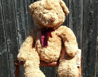 Vintage Russ Berrie Stuffed Bear Schubert