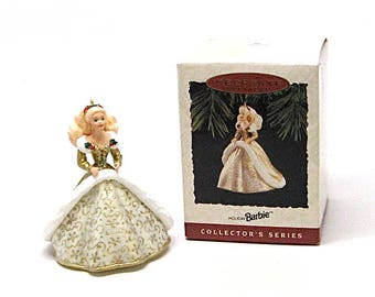 1994 Barbie Keepsake Ornament,Holiday Barbie,vintage barbie,Hallmark collectables,Gift Idea,Collectible Barbie ornaments,Christmas ornaments