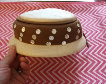 Vintage Womens Pill Box Hat