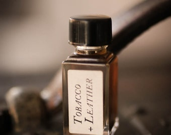 Tobacco + Leather - Strange Companion Blend™ - Natural Perfume Oil