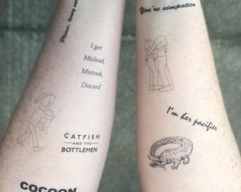 CATB Temporary Tattoos