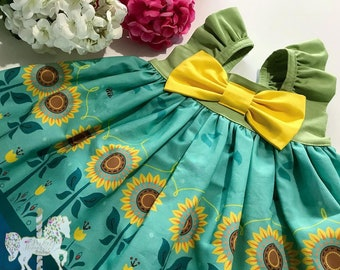 Frozen Fever Dress | Anna Princess Dress | Spring Dress | Disney Vacation | Birthday Dress | Frozen Fever | Princess Dress | Disney Dress