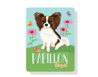 "Papillon Love 9"" X 12"""