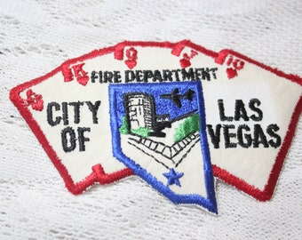 City of Las Vegas Nevada Fire Department Embroidered Patch