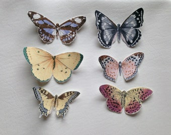 Choose One Butterfly Patch Colorful Cotton Patches variety moth bug patches