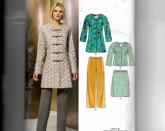 New Look Misses' Jacket, Skirt and Pants Pattern 6855