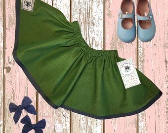 Girls skirt, Purple, Toddler skirt, Baby skirt, Simple Skirt, Boho Skirt, Bohemian Baby Skirt, Cotton Skirt, Retro Skirt, Boho Photo Prop