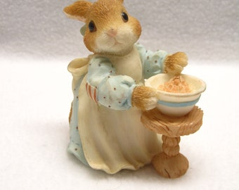 My Blushing Bunnies - A Mom Like You Is A Blessing Come True - Enesco Figurine 156981