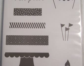 Build a Birthday  Stampin' Up! Photopolymer stamp  Set