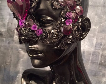 Purple Rose Mask
