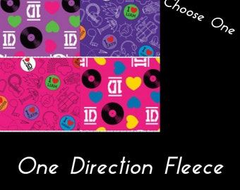 One Direction Fleece Blanket
