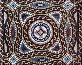 Roman Art Mosaic - Janelle