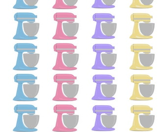 Stand Mixer Stickers (planner Stickers)