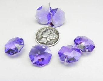 Swarovski 8115 Blue Violet 14MM Prism Pendant (1 piece)