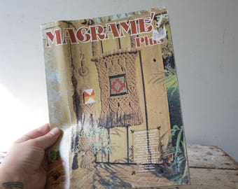 Macrame Book Tutorial DIY Magazine Macrame Workbook Macrame Magazine Macrame Magic Learn Macrame Vintage Macrame Textile Art