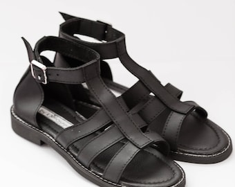 black shoes | sandals