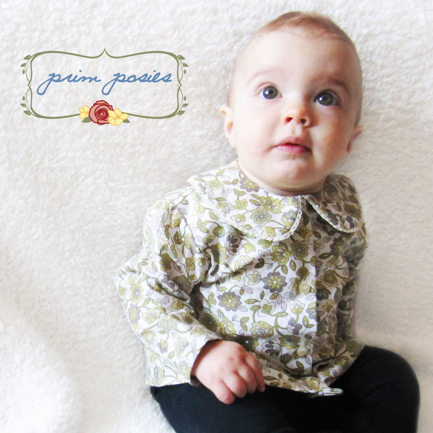 Baby Girl Clothes Baby Shirt Vintage Style Baby Girl Top