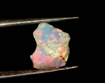 Amazing Quality Natural Ethiopian Opal Rough LotB 3Pieces 3.40 Crt Multi Fire Welo Fire Opal Fire Opal Rough Raw gemstone Rough Lot  ORB2