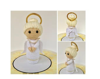 Angel Crochet Pattern - Angel Amigurumi Doll