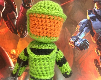 Halo Master Chief Crochet Pattern
